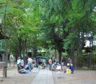 川口神社と一箱古本市