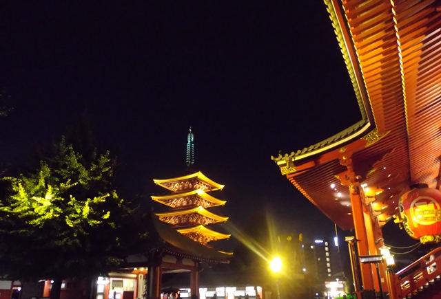 浅草寺と塔