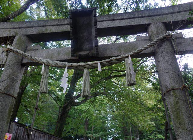 小金井神社鳥居