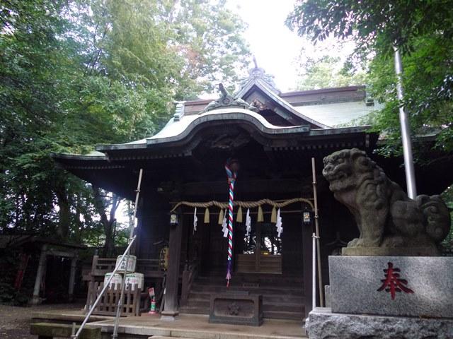 小金井神社本殿