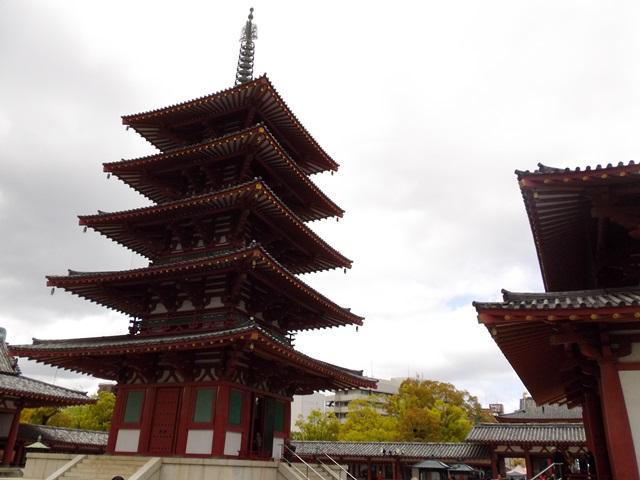 四天王寺、五重塔