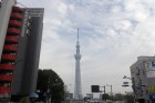 浅草方面から見る東京スカイツリー