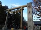 浅草でも、浅草神社のほうです
