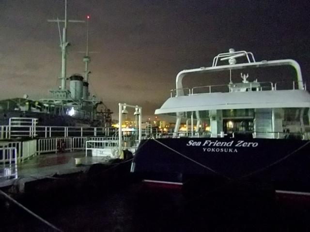 横須賀港船