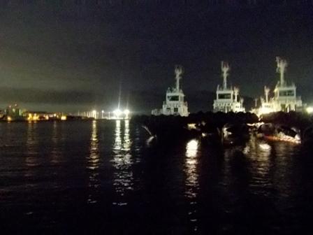横須賀港夜景