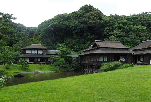 三渓園、屋敷