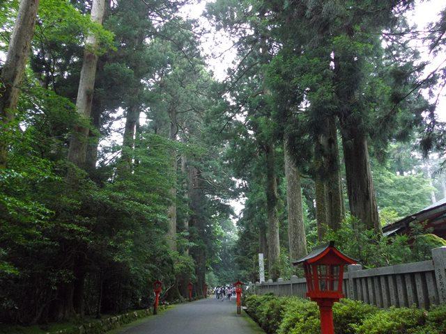 箱根神社、入り口