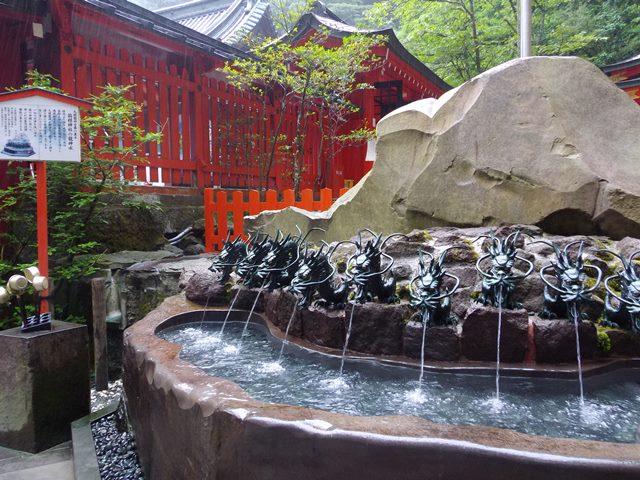 九頭龍神社湧き水