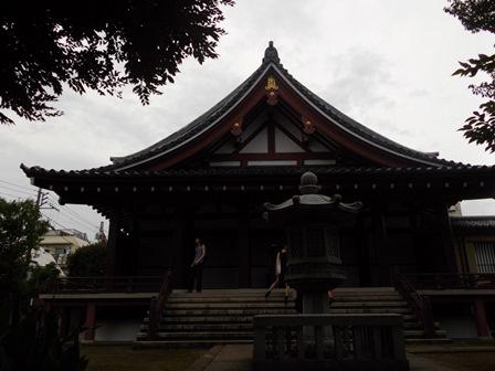 長仙寺本堂
