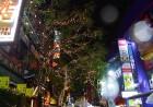 横浜中華街のライトアップは、金運アップ