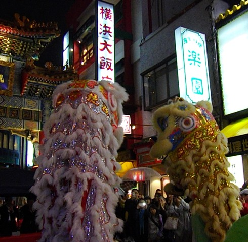 中国の獅子舞