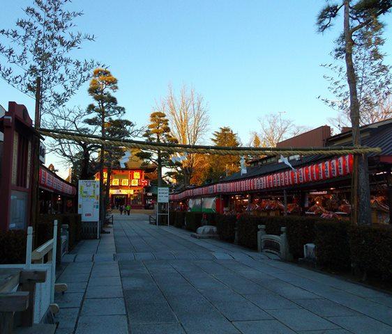笠間稲荷神社参道