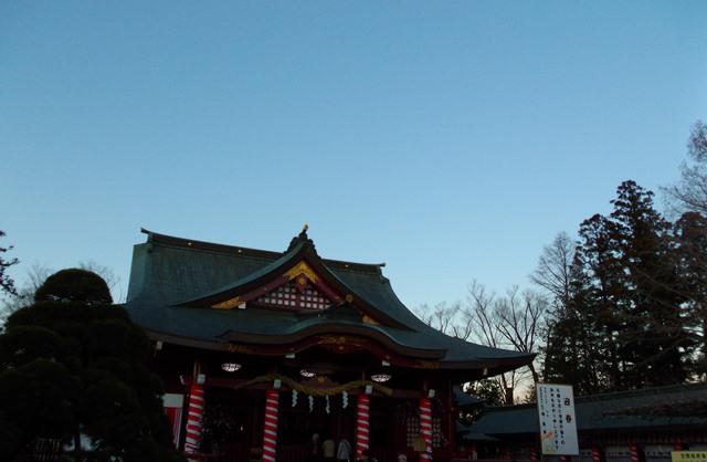 笠間稲荷神社本殿