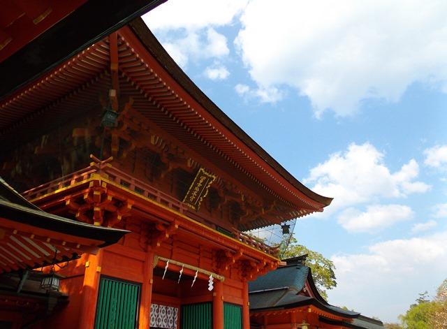 富士山本宮浅間大社、楼門