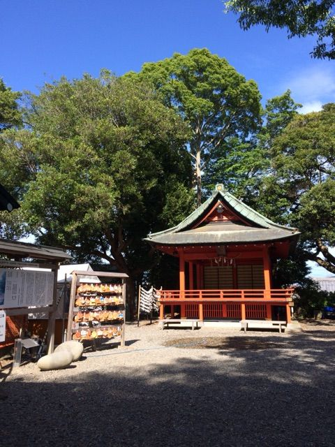 玉前神社神楽殿