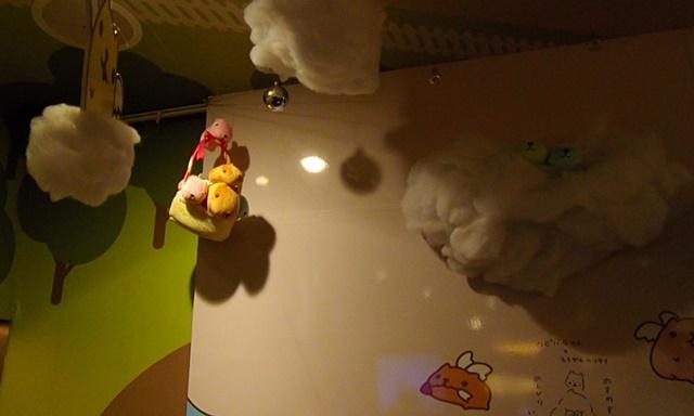 カピバラさんカフェ2階