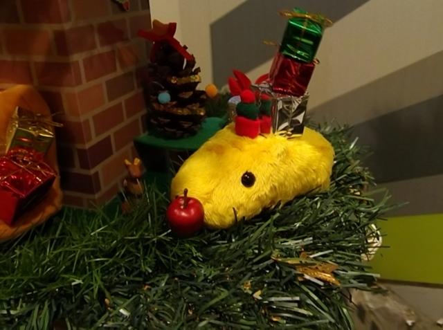 カピバラさんクリスマスツリー