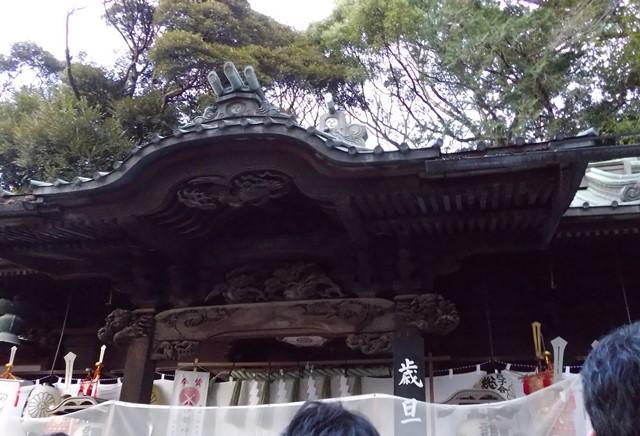 つきのみや神社拝殿
