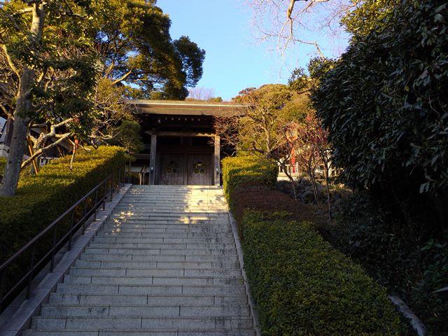 荏柄天神社階段