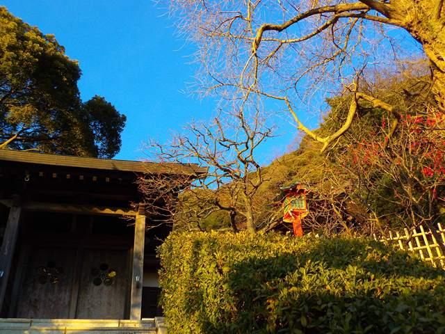 荏柄天神社門