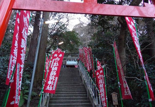佐助稲荷神社階段