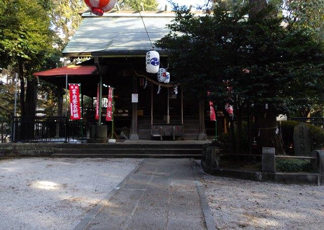 入間市の愛宕神社