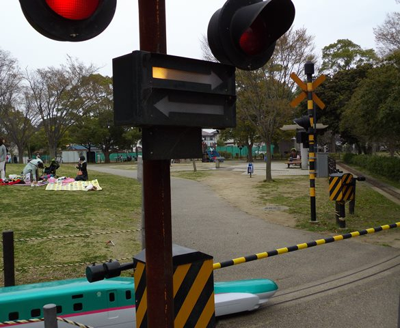 手賀沼公園の列車
