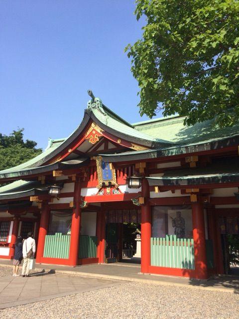 日枝神社山頂