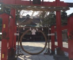 箭弓稲荷神社茅の輪