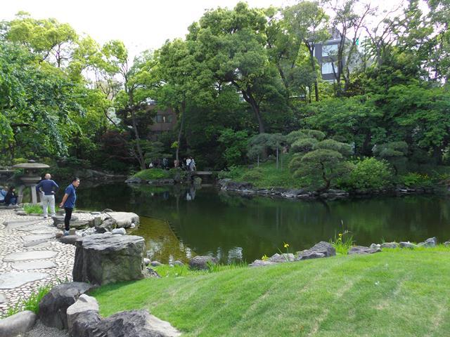 伝法院の池