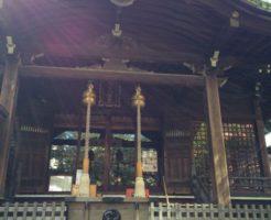 御田八幡神社本殿