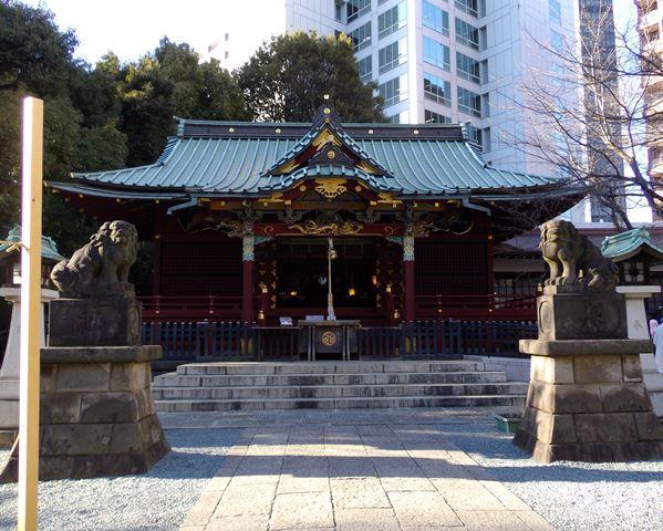 金王神社拝殿