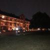 横浜赤レンガ倉庫(開館15周年)の夜景と横浜市内の夜景