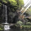 目黒雅叙園のカフェラウンジ裏の滝がパワースポットかも
