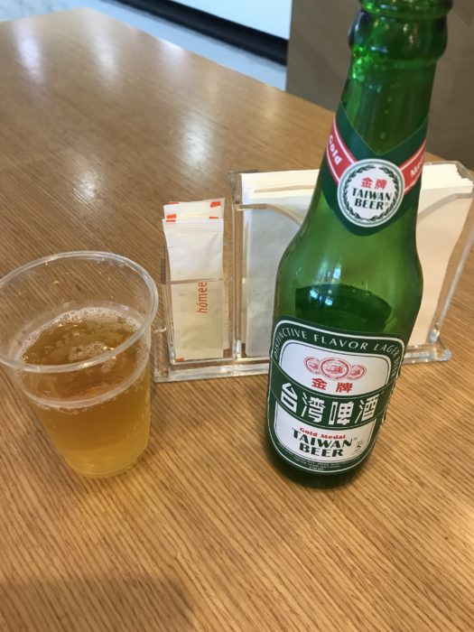 台湾ビール松山空港