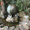 高輪の銭洗不動(黄梅院)明王に金運向上でお金を洗った後は泉岳寺へ