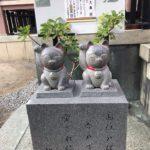 今戸神社の招き猫像