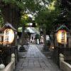小野照崎神社で大嘗祭の御朱印をいただきに渥美清さんが願掛けの神社