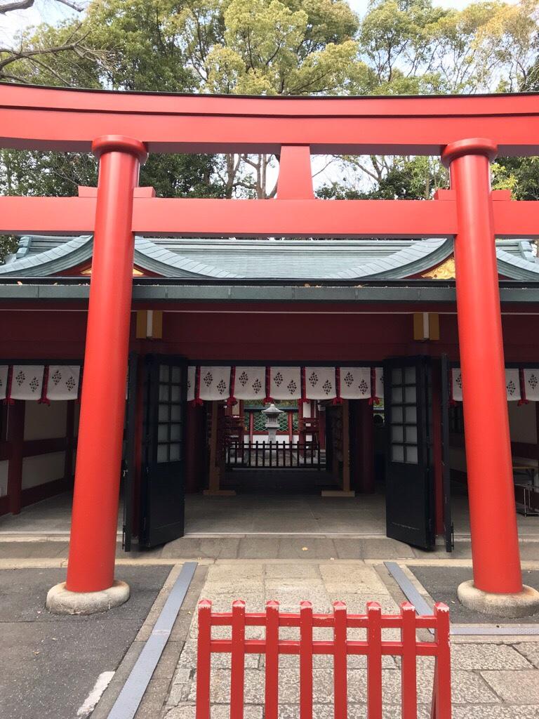 山王稲荷神社と猿田彦神社