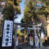 下野市の薬師寺八幡宮と雷電神社に参拝に千勝神社で折り紙して鶴を奉納