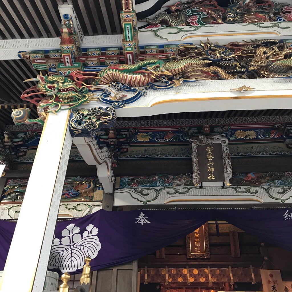 宝登山神社の拝殿