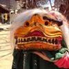 磐井神社と海豊稲荷神社の初午に行って獅子舞に噛んでもらって