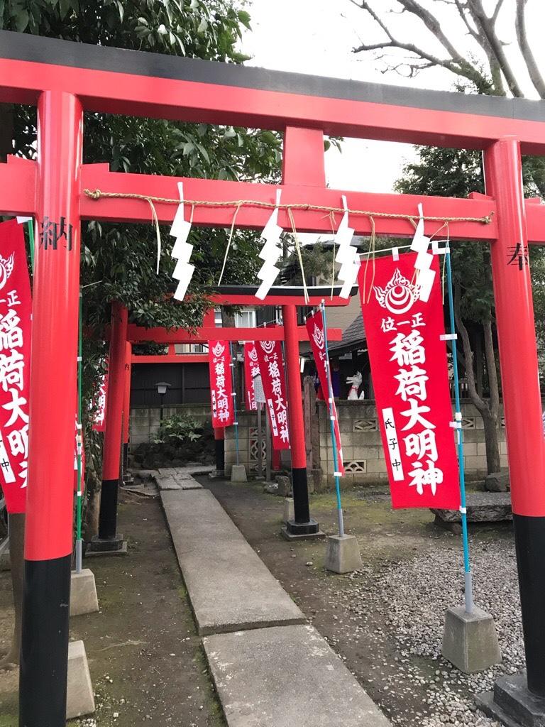蛇窪神社初午