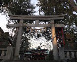 居木神社の坂